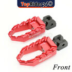 Aluminum Highway Wide BUZZ Front Foot Pegs For Triumph Daytona 600 Tiger 955i $54.88 USD on eBay