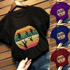 Casual Funny Top Women Stranger Things 3 Printed T-Shirt Plus Size Shirts Blouse image