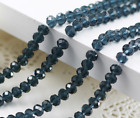 Wholesale 120pcs 4mm Crystal Faceted  Abacus Loose Bead Bracelet Necklace Craft