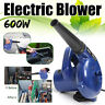 More images of 2 in 1 600W AC 220V Electric Handheld Large Power Dust Leaf Air Blower Cleane Mi
