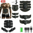 Rechargeable ABS Simulator EMS Training Smart Hip Abdominal Muscle Exerciser 999 image