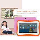 """7"""" INCH KIDS ANDROID 4.4 TABLET PC QUAD CORE WIFI HD 15h Standby 8GB FOR GIFT US"""