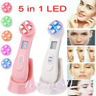 5 in 1 LED Skin Tightening Facial Light Whitening Acne Photon Wrinkle Remover $25.56 CAD on eBay