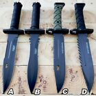 """13.5"""" Military Tactical Bayonet Hunting Fixed Blade Survival Rambo Bowie Knife"""