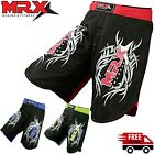 Mens MMA Fight Shorts Grappling Short Muay Thai Kick Boxing Cage Fighting Shorts