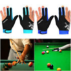 Spandex Snooker Three-finger Billiard Glove Pool Left And Right Hand Open Gloves $7.15 USD on eBay
