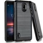 For LG Arena 2 LMX320APM / Escape Plus Lining Hybrid Case Phone Cover