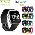 For Fitbit Versa Lite / Versa 2 Replacement Silicone Wristband Sports Band Strap image