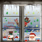 Christmas Window Decals Wall Stickers Adhesive Removable Home Decoration