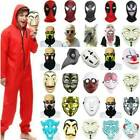 Christmas Spiderman Wolf Zombie Clown Killer Mask Prop Party Cosplay Fancy Dress