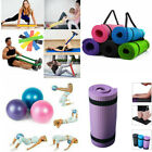 Exercise Fitness Large Yoga Mat Gym Ball Pilates Sport Auxiliary Tool Collection
