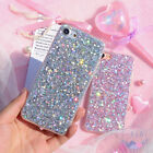 For iPhone 11/11 Pro Max XR 7 8 Plus Case Glitter Slim Bling Cute Phone Cover