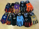 NFL Football Utility Work Gloves  - Pick Your Team $8.95 USD on eBay
