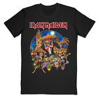 Iron Maiden Legacy of the Beast 2019 Mexico Event Tee Hanes Cotton T-Shirt S-3XL