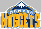 Denver Nuggets NBA Logo Decal Sticker Choose Size 3M LAMINATED BUY3GET1FREE on eBay