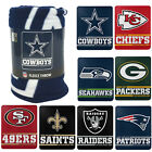 "New PICK YOUR TEAM NFL Split Wide Fleece Throw Blanket Large Size 50""x60"" $17.07 USD on eBay"