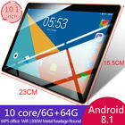 10.1 Inch Game Tablet Computer PC Ten Core Android 8.1 GPS 3G Wifi Dual Camera