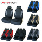 Auto Seat Covers Front Rear Head Rests Universal Protector for Car Truck SUV Van $18.98 USD on eBay