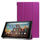 For Amazon Kindle Fire HD 10 8 7 9th Gen 2019 Tablet Case Flip PU Leather Cover