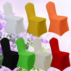 Universal Spandex Chair Cover Dining Seat Protector Elastic Wedding Decor Sanwo