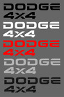 Dodge Ram 4x4 Bed Tailgate Replacement Vinyl Decal Truck Vehicle 1994-2002 $9.95 USD on eBay
