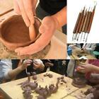 6x Clay Sculpting Set Wax Carving Pottery Tools Polymer Modeling Tools D image