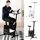 Kyпить 2-in-1 Stationary Exercise Bike and Tabletop Workstation with LCD Monitor на еВаy.соm