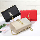 Ladies Womens Leather Messenger Shoulder Crossbody Bag Designer Handbag