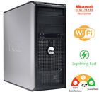 DELL Desktop Computer mini Tower Core 2 Duo 3.10Ghz Custom Build Windows 10