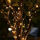 100 LED String Lights Waterproof Watering Can Light Solar Powered Decorations