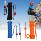 12mm High Strength Outdoor Safety Rock Climbing Rescue Rope For Climb Tree US