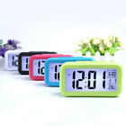 New Digital LCD Snooze Electronic Alarm Clock with LED Backlight Light Control