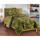 Dream Factory Geo Camo Full 7-piece Bed in a Bag with Sheet