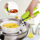Stainless Steel Anti-Hot Gripper Clip Pot Pan Hot Dish Plate Bowl Holder Code