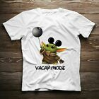 Baby Yoda Star Wars Movie Vacay Mode Lovely Mickey Mouse Gift T-shirt Christmas $13.99 USD on eBay