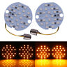 1157 LED Blub Amber Turn Signal Inserts Light Blinker For Harley Road King Glide
