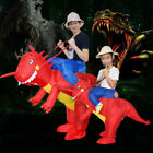 Ride On Dinosaur Costume Inflatable Blow Up Suit T-Rex Fancy Dress Party Gift US