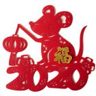 Kyпить 2020 Chinese New Year Of Rat Spring Festival Blessing Sticker Wall Door Stickers на еВаy.соm