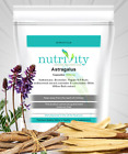 Astragalus 1000mg Capsules Nutrivity UK, Powerful Chinese Supplement High Dose