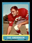 1963 Topps Football 3-156 VG-EX Pick From List All PICTURED