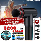 Fascia Massage Gun Percussion Massager Muscle Relaxing Sports Recovery Therapy A $34.7 USD on eBay