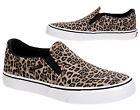 New Vans Slip On Asher Leopard black Womens Casual Sneakers Shoes Canvas 6 - 11