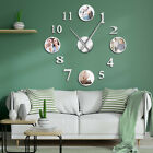 Photo Picture Frame DIY Large Wall Big Clock Custom Room Family Clock Images