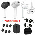 5Pairs For AirPods 1 2 Earbuds Cover Anti-Slip Ear Tips Replacement Kit Silicone