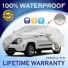 100% Weatherproof Full SUV Cover with Door Zipper For Jeep Liberty [2002-2013]