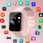 Smart watch Sport wristband Heart Rate Fitness Trackers Waterproof Women Men UK