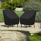 Waterproof Chair Cover High Back Outdoor Patio Garden Furniture Storage Cover Us