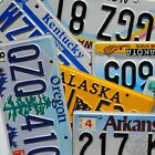 License Plates -  All 50 States Canada Mexico Available Good Condition Plate Lot