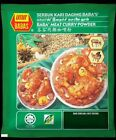 MEAT CURRY POWDER 250gram (8.82 oz) MALAYSIAN BRAND BABA'S FREE SHIPPING + TRACK