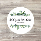 Personalised Stickers, Wedding Stickers, Wedding Favour Labels, Floral Wedding